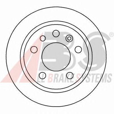 Тормозной диск A.B.S. 16287