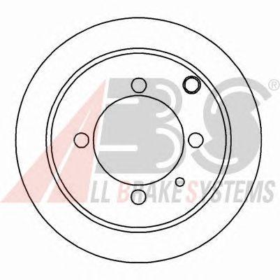 Тормозной диск A.B.S. 16472
