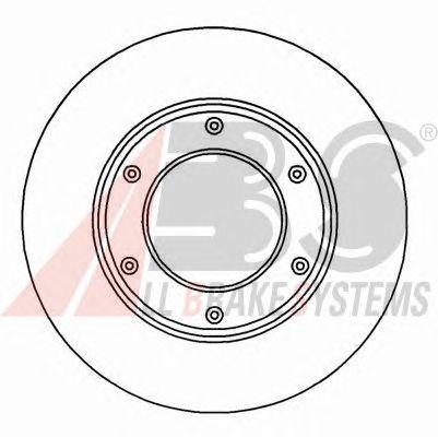 Тормозной диск A.B.S. 16941