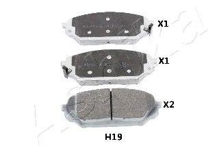 Тормозные колодки ASHIKA 50-0H-H19