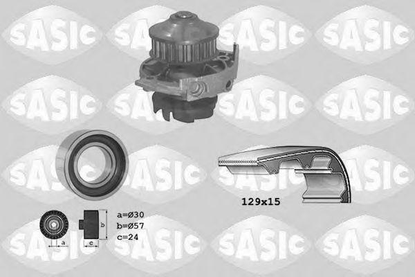 Помпа + комплект ГРМ SASIC 3906017