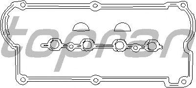 Комплект прокладок клапанной крышки TOPRAN 100 271