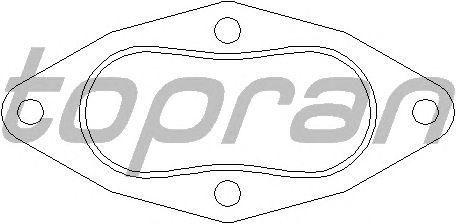 Прокладка, труба выхлопного газа TOPRAN 108 144