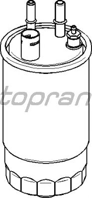 Топливный фильтр TOPRAN 304 035