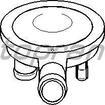 Клапан вентиляции картера TOPRAN 113 329