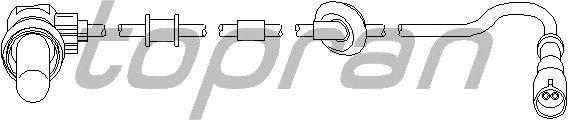 Датчик вращения колеса TOPRAN 113 731