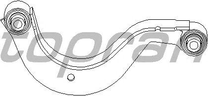 Рычаг подвески TOPRAN 112 405
