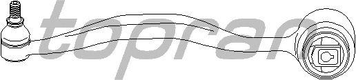 Рычаг подвески TOPRAN 500 126