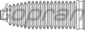 Пыльник рулевой рейки TOPRAN 501 485