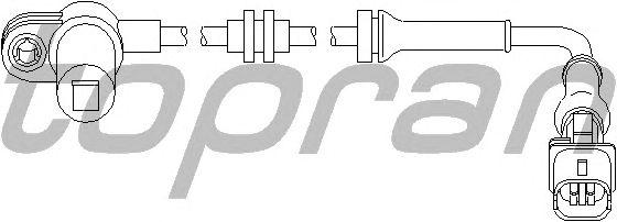 Датчик вращения колеса TOPRAN 207 450
