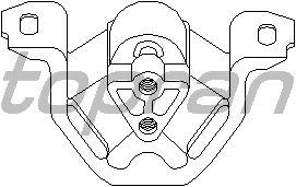 Подушка двигателя TOPRAN 201 395