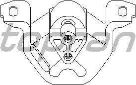Подушка двигателя TOPRAN 201 400