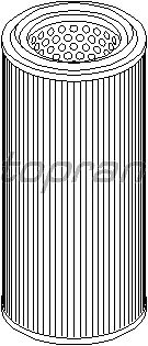 Воздушный фильтр TOPRAN 720 970