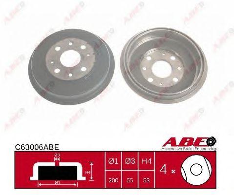 Тормозной барабан ABE C63006ABE