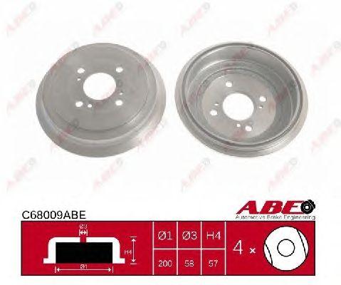 Тормозной барабан ABE C68009ABE
