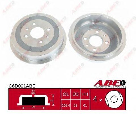 Тормозной барабан ABE C6D001ABE