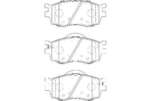 Тормозные колодки WAGNER WBP24317A