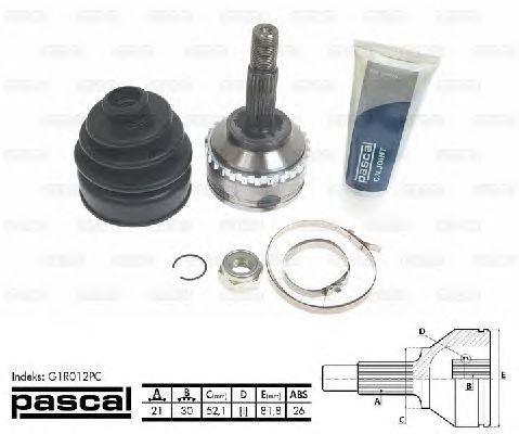 Комплект ШРУСов PASCAL G1R012PC