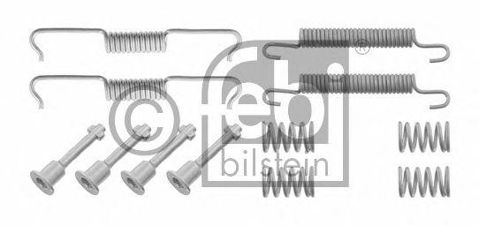 Монтажный комплект тормозных колодок FEBI BILSTEIN 29225