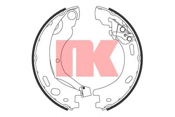 Тормозные колодки ручника NK 2712769