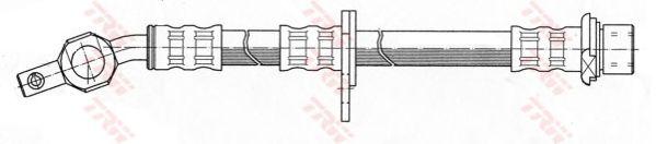 Тормозной шланг TRW PHD373
