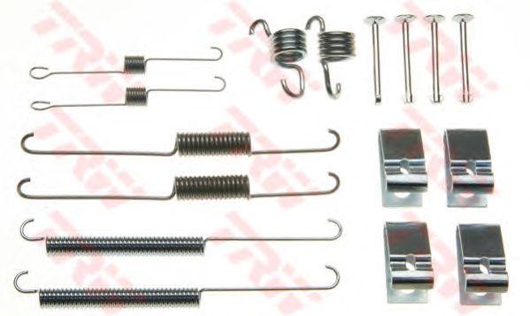 Монтажный комплект тормозных колодок TRW SFK185