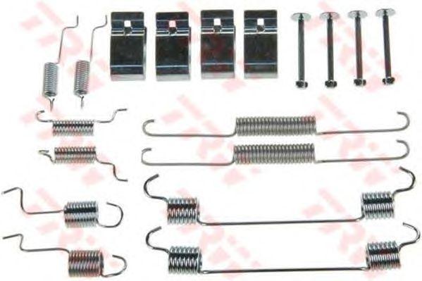 Монтажный комплект тормозных колодок TRW SFK274