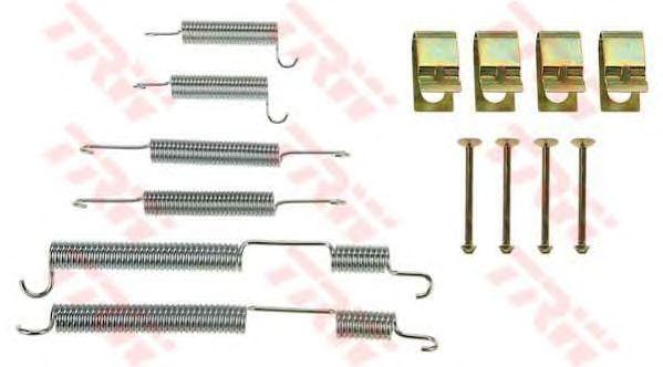 Монтажный комплект тормозных колодок TRW SFK379