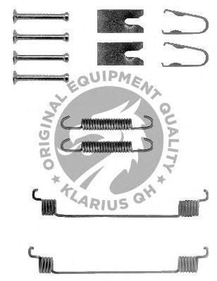 Монтажный комплект тормозных колодок QH International BFK434