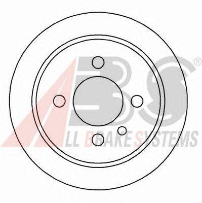 Тормозной диск A.B.S. 15726