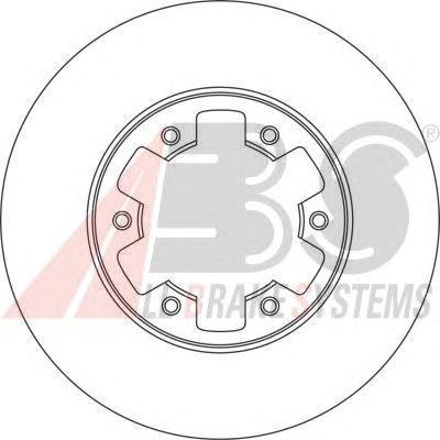 Тормозной диск A.B.S. 15994