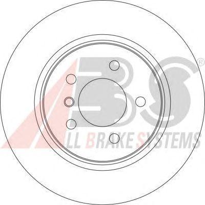 Тормозной диск A.B.S. 17026