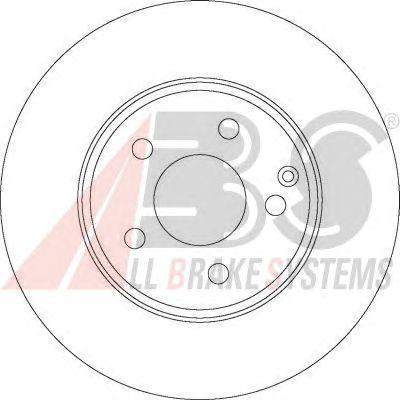 Тормозной диск A.B.S. 17403