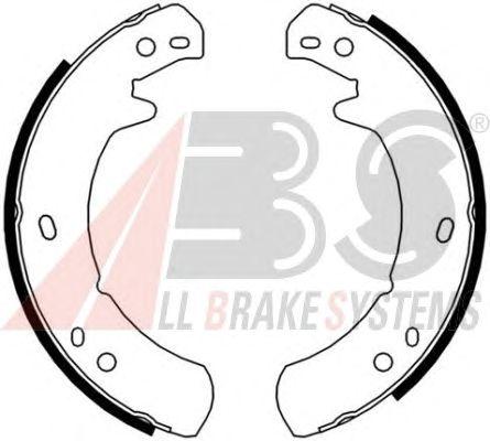 Тормозные колодки ручника A.B.S. 8955