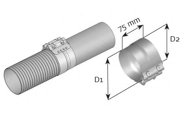 Клемма, система выпуска DINEX 99301