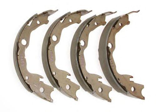 Тормозные колодки ручника NIPPARTS N3501057