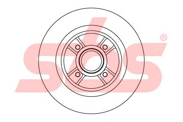 Тормозной диск sbs 1815203935
