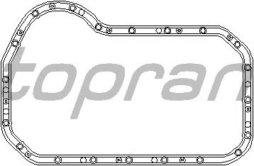 Прокладка поддона TOPRAN 105 752