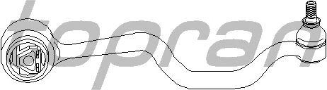 Рычаг подвески TOPRAN 500 123