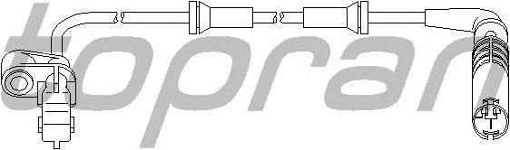 Датчик вращения колеса TOPRAN 501 235