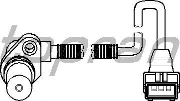 Датчик положения коленвала, распредвала TOPRAN 205 893
