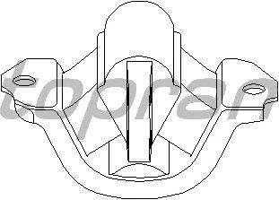 Подушка двигателя TOPRAN 201 369