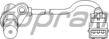 Датчик положения коленвала, распредвала TOPRAN 721 674