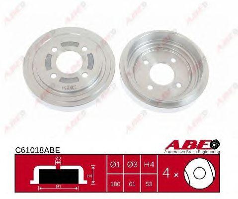 Тормозной барабан ABE C61018ABE
