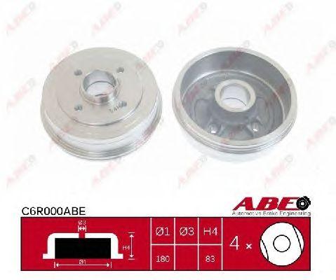 Тормозной барабан ABE C6R000ABE