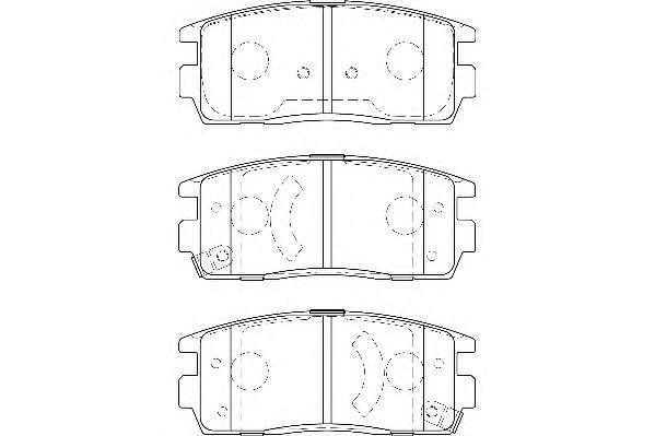 Тормозные колодки WAGNER WBP24498A