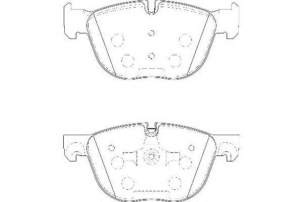 Тормозные колодки WAGNER WBP24170A