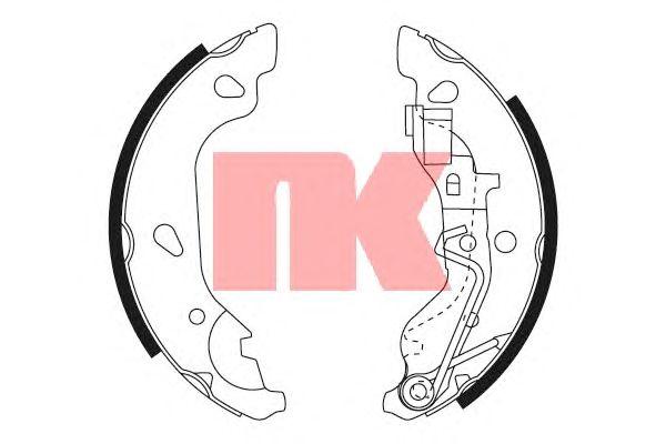 Тормозные колодки NK 2723669