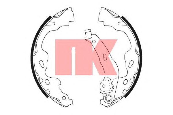 Тормозные колодки NK 2745705