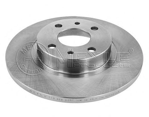 Тормозной диск MEYLE 215 521 2002
